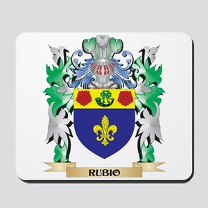Rubio Coat of Arms - Family Crest Mousepad