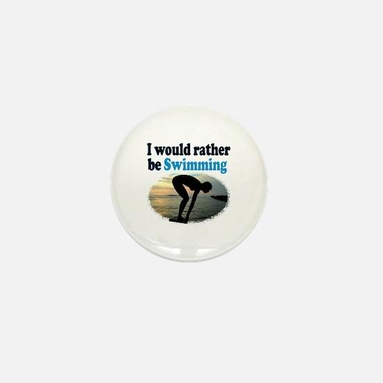 BEST SWIMMER Mini Button