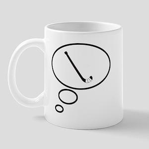 Thinking of Field Hockey Mug