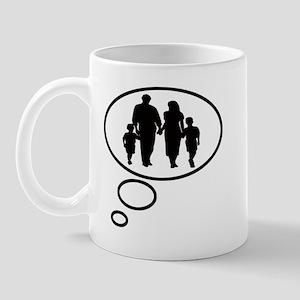 Thinking of Family Mug