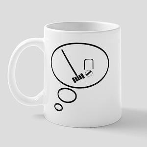 Thinking of Crouquet Mug