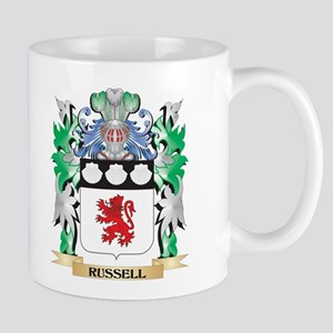 Russell Coat of Arms - Family Crest Mugs