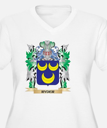 Ryder Coat of Arms - Family Cres Plus Size T-Shirt