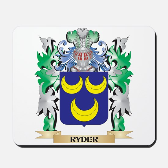 Ryder Coat of Arms - Family Crest Mousepad