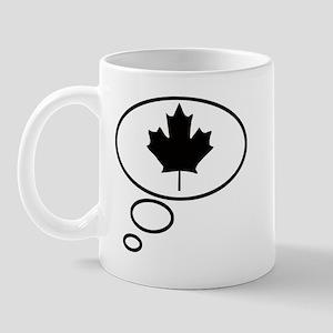 Thinking of Canadian Mug