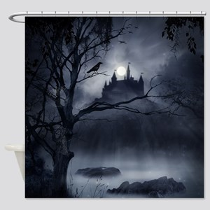 Gothic Night Fantasy Shower Curtain