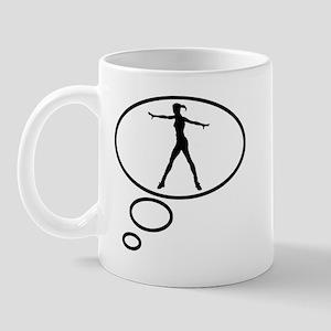 Thinking of Ballerina  Mug