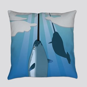 narwhal Everyday Pillow