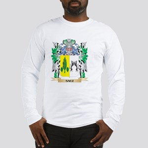 Saez Coat of Arms - Family Cre Long Sleeve T-Shirt