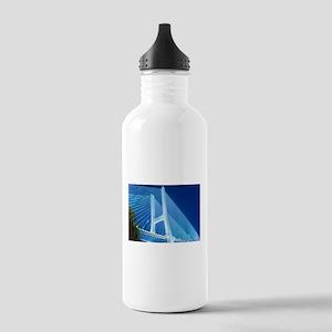 Bridge at night - ligh Stainless Water Bottle 1.0L