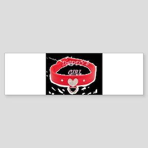 Daddy's Girl (black) Bumper Sticker