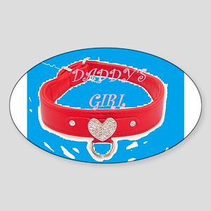 Daddy's Girl (torquoise) Sticker