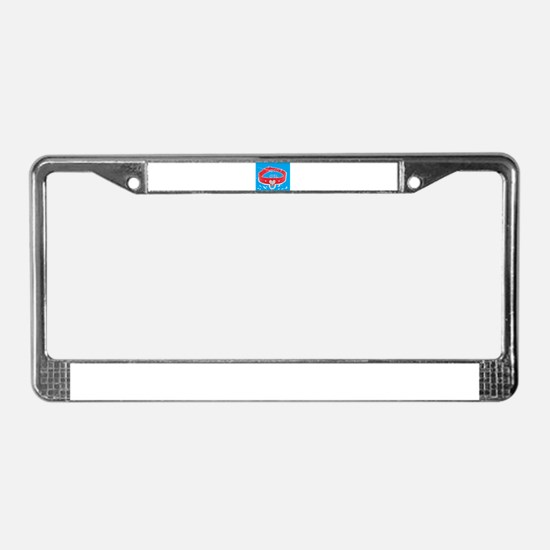 Daddy's Girl (torquoise) License Plate Frame