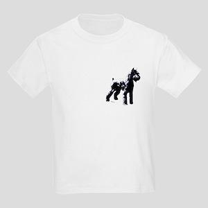Giant schnauzer Stacked Kids T-Shirt