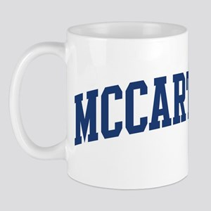 MCCARTHY design (blue) Mug