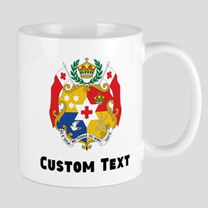 Tonga Coat Of Arms Mugs