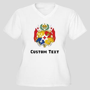 Tonga Coat Of Arms Plus Size T-Shirt