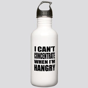 I Can't Concentrate When I'm Hangry Water Bottle