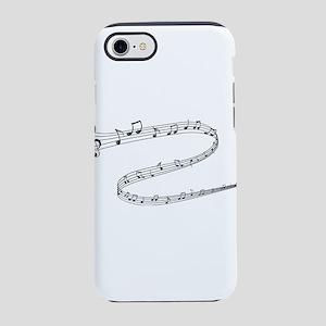 music notes iPhone 8/7 Tough Case