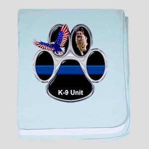K-9 Unit baby blanket