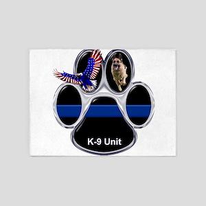 K-9 Unit 5'x7'Area Rug