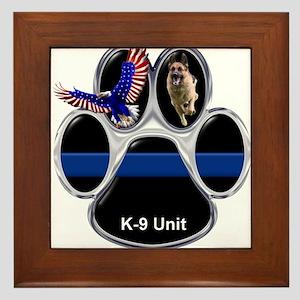 K-9 Unit Framed Tile