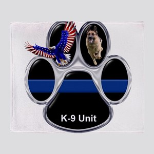 K-9 Unit Throw Blanket