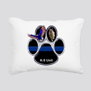 K-9 Unit Rectangular Canvas Pillow