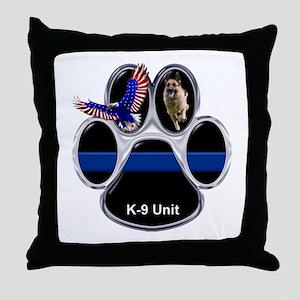 K-9 Unit Throw Pillow