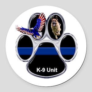 K-9 Unit Round Car Magnet