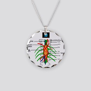 Tumor Wall Necklace Circle Charm