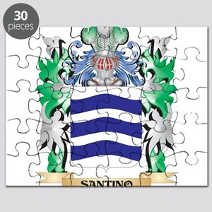 Santino Coat of Arms - Family Crest Puzzle