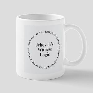 Jehovah's Witness logic circular Mugs