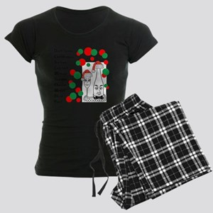 Christmas Wine List Pajamas