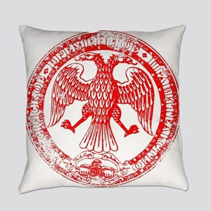 Russian Republic Seal Stamp Everyday Pillow