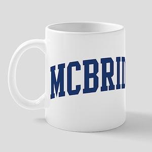 MCBRIDE design (blue) Mug