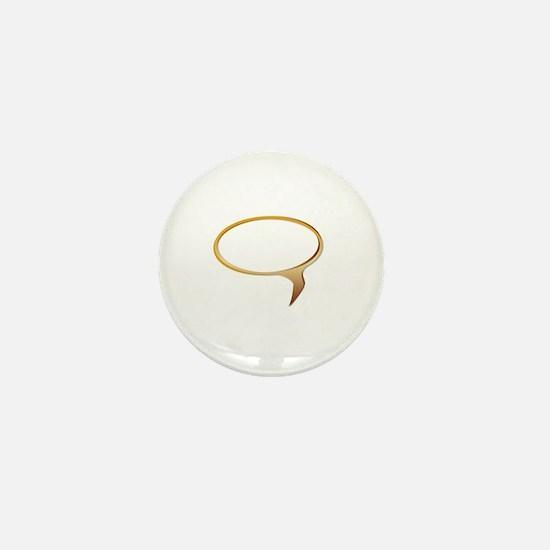 Cute Speech bubble Mini Button