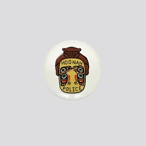 Hoonah Police Mini Button