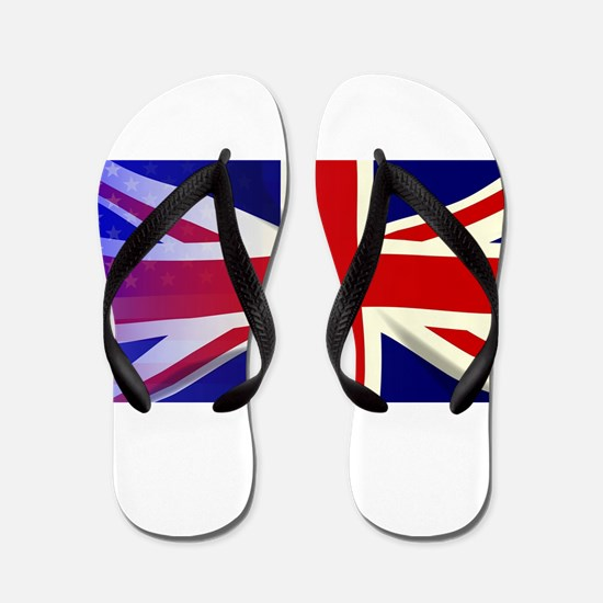 Union Jack Stars and Stripes Flip Flops