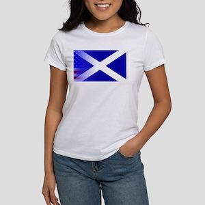 Scottish Flag Stars and Stripes T-Shirt