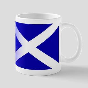 Scottish Flag Stars and Stripes Mugs
