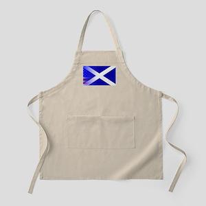 Scottish Flag Stars and Stripes Apron