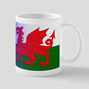 Wales Dragon Stars and Stripes Mugs
