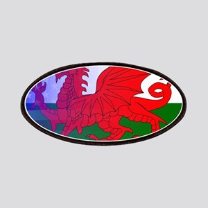 Wales Dragon Stars and Stripes Patch