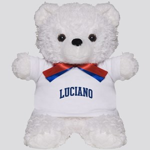 LUCIANO design (blue) Teddy Bear