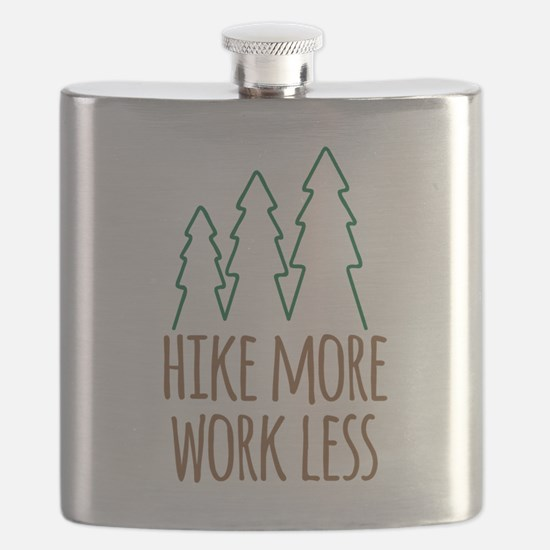 Hike More Work Less Flask