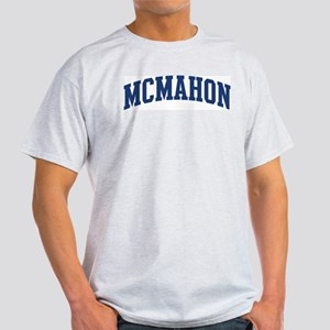 MCMAHON design (blue) Light T-Shirt