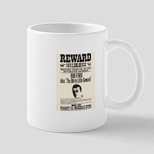 Bob Ford Wanted Mugs
