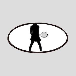 Tennis Girl Patch