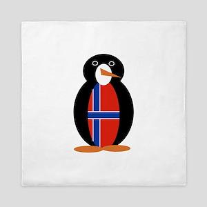 Penguin of Norway Queen Duvet